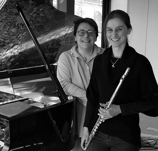 Yanna and Sarah, Animo flute and piano duo
